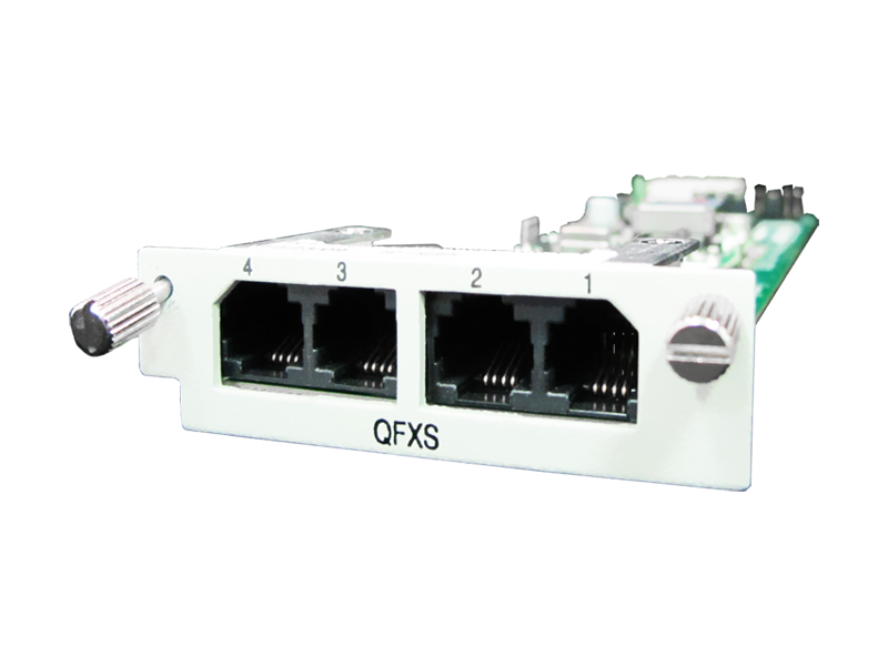QFXO Voice Card for AM3440-D/E / V4200-9