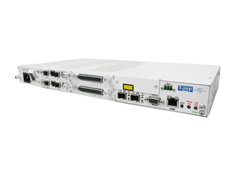 PTN Carrier Ethernet  Access Node GE E1 / T1 - IP6750-Right-size View