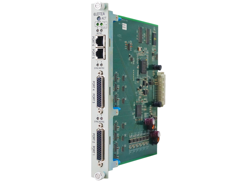 6-port Universal Data Interface Card (6UDTEA)