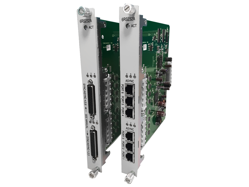 6-port RS232 card (6RS232A) for AM3440