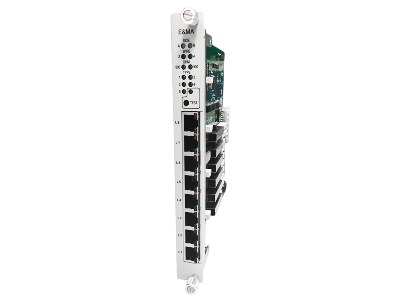 8-channel 2W/4W E&M Voice Card (8EMA)